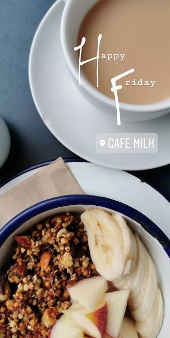 Cafe Milk Edinburgh